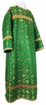 Clergy stikharion - metallic brocade B (green-gold)