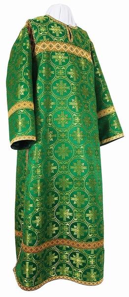 Clergy stikharion - metallic brocade B (green-gold)