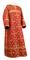 Clergy sticharion - Soloun metallic brocade B (red-gold), Standard design