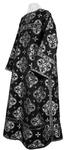 Clergy stikharion - metallic brocade B (black-silver)