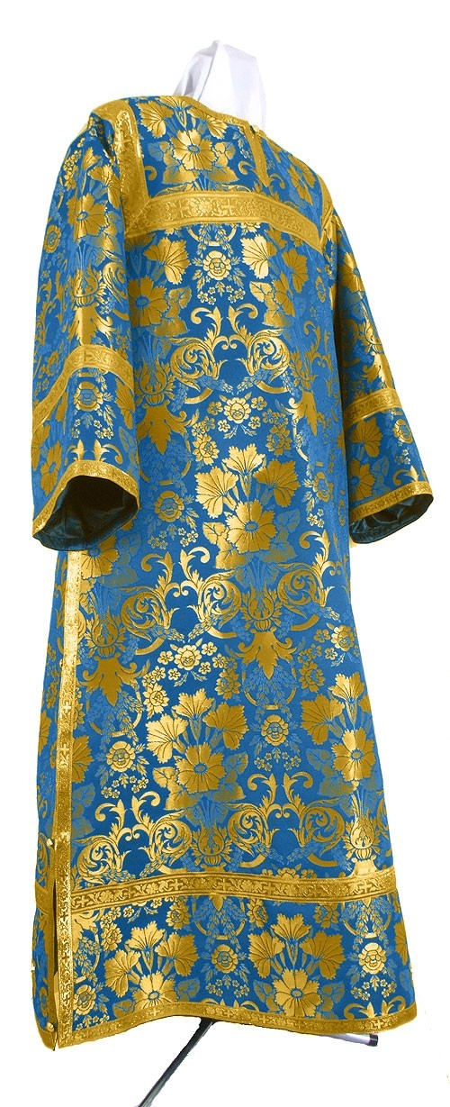 Orthodox Church Liturgical Clergy Stikharions Albs Blue Gold By