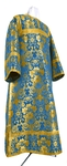 Clergy stikharion - metallic brocade BG1 (blue-gold)