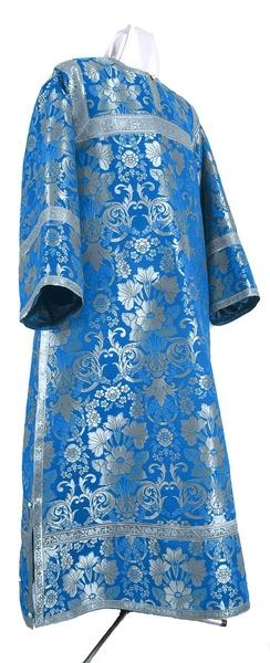 Clergy stikharion - metallic brocade BG1 (blue-silver)