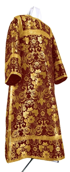 Clergy stikharion - metallic brocade BG1 (claret-gold)