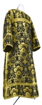 Clergy stikharion - metallic brocade BG1 (black-gold)