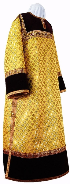 Clergy stikharion - metallic brocade BG1 (yellow-gold)