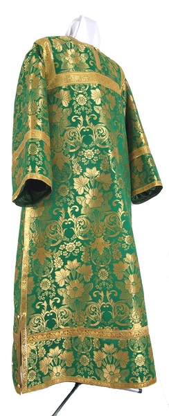 Clergy stikharion - metallic brocade BG1 (green-gold)