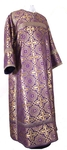 Clergy stikharion - metallic brocade BG1 (violet-gold)
