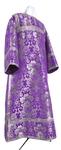Clergy stikharion - metallic brocade BG1 (violet-silver)