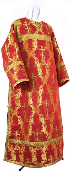Clergy stikharion - metallic brocade BG1 (red-gold)