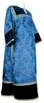 Clergy stikharion - metallic brocade BG2 (blue-gold)