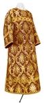 Clergy stikharion - metallic brocade BG2 (claret-gold)