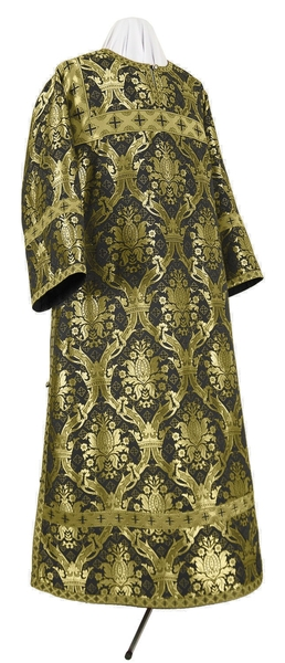Clergy stikharion - metallic brocade BG2 (black-gold)