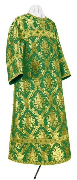 Clergy stikharion - metallic brocade BG2 (green-gold)