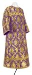 Clergy stikharion - metallic brocade BG2 (violet-gold)