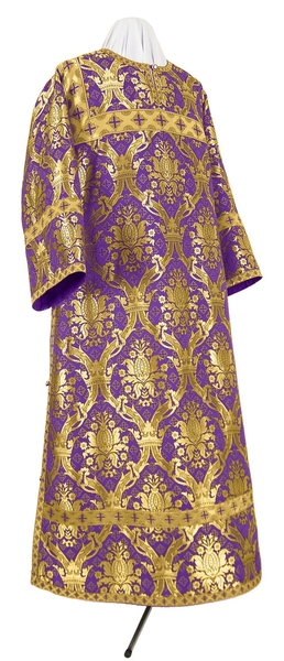 Clergy stikharion - metallic brocade BG2 (violet-gold)