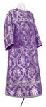 Clergy stikharion - metallic brocade BG2 (violet-silver)