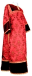 Clergy stikharion - metallic brocade BG2 (red-gold)