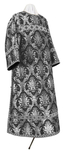 Clergy stikharion - metallic brocade BG2 (black-silver)