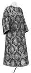 Clergy stikharion - metallic brocade BG2 (black-silver)