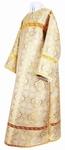 Clergy stikharion - metallic brocade BG2 (white-gold)