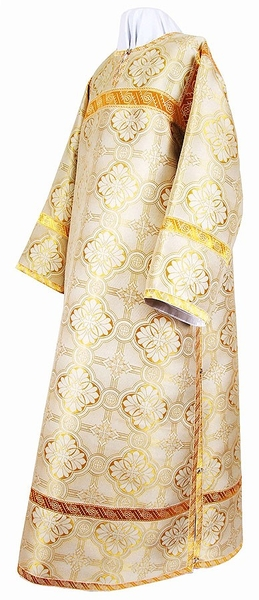 Clergy stikharion - metallic brocade BG2 (white-gold)