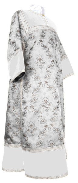 Clergy stikharion - metallic brocade BG2 (white-silver)