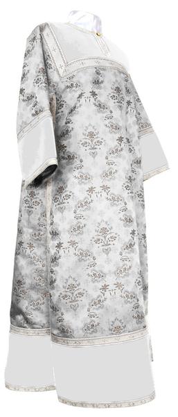 Clergy stikharion - metallic brocade BG2 (white-silver)