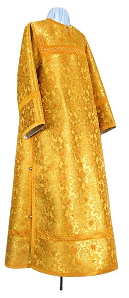 Clergy stikharion - metallic brocade BG3 (yellow-gold)