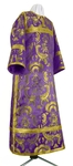 Clergy stikharion - metallic brocade BG3 (violet-gold)