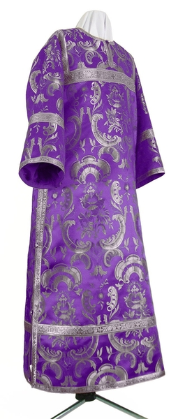 Clergy stikharion - metallic brocade BG3 (violet-silver)