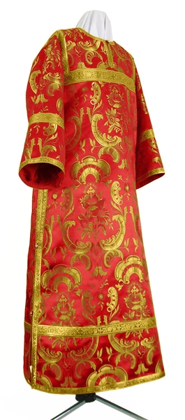 Clergy stikharion - metallic brocade BG3 (red-gold)