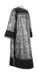 Clergy stikharion - metallic brocade BG3 (black-silver)
