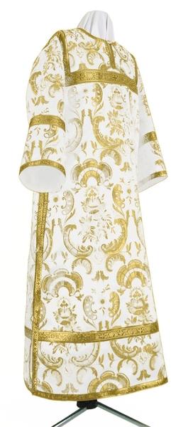 Clergy stikharion - metallic brocade BG3 (white-gold)