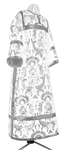 Clergy stikharion - metallic brocade BG3 (white-silver)