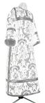 Clergy stikharion - metallic brocade BG3 (white-silver)