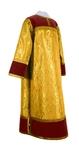 Clergy stikharion - metallic brocade BG4 (yellow-claret-gold)