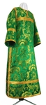 Clergy stikharion - metallic brocade BG4 (green-gold)