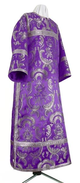 Clergy stikharion - metallic brocade BG4 (violet-silver)