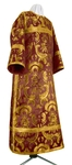 Clergy stikharion - metallic brocade BG5 (claret-gold)