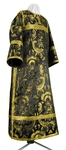 Clergy stikharion - metallic brocade BG5 (black-gold)