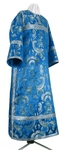 Clergy stikharion - metallic brocade BG6 (blue-silver)