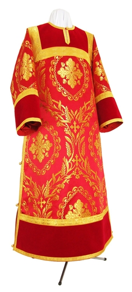Clergy stikharion - metallic brocade BG6 (red-gold)