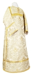 Clergy stikharion - metallic brocade BG6 (white-silver)