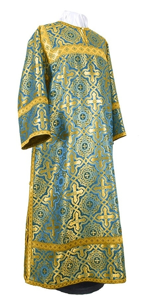 Clergy stikharion - rayon brocade S2 (blue-gold)