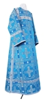 Clergy stikharion - rayon brocade S2 (blue-silver)