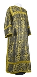 Clergy stikharion - rayon brocade S2 (black-gold)