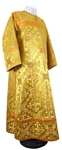 Clergy stikharion - rayon brocade S2 (yellow-claret-gold)