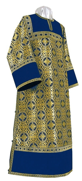 Clergy stikharion - rayon brocade S3 (blue-gold)