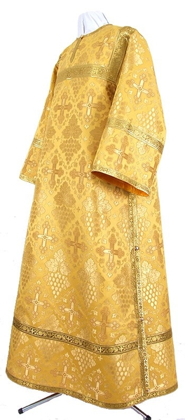 Clergy stikharion - rayon brocade S3 (yellow-gold)